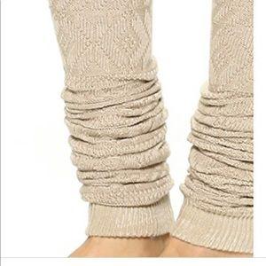 Free People Sock and Leg Warmer